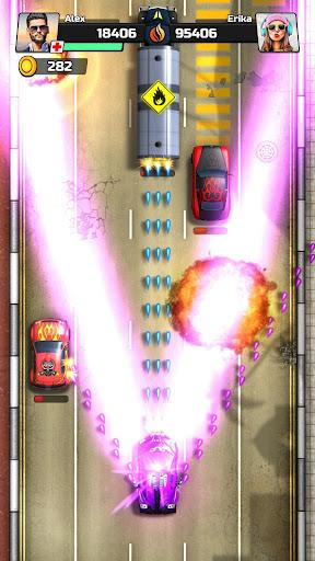 Code Triche Chaos Road: Courses de Combat mod apk screenshots 6
