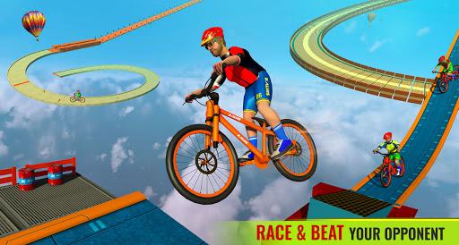 BMX Bicycle Racing Stunts 3D Mega Ramp Cycle Games 2.7 screenshots 7