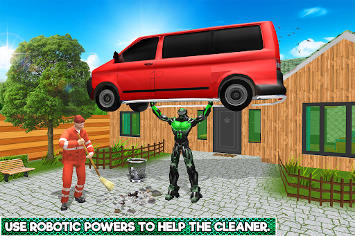 Robotic Family Fun Simulator apkpoly screenshots 2