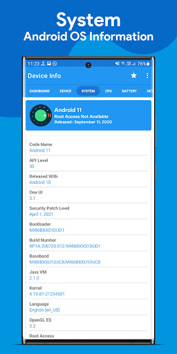 Device Info : View Device Information android2mod screenshots 2