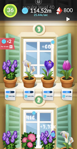 FlowerBox: Idle flower garden  screenshots 8
