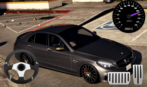 Parking Mercedes C63 AMG City Drive 11.1 screenshots 1