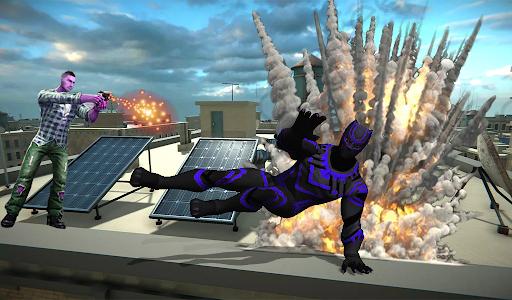 Super Black Hero Rope 3.2 screenshots 1