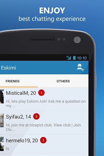 Meet People and Chat: Eskimi 5.6.7 Screenshots 3