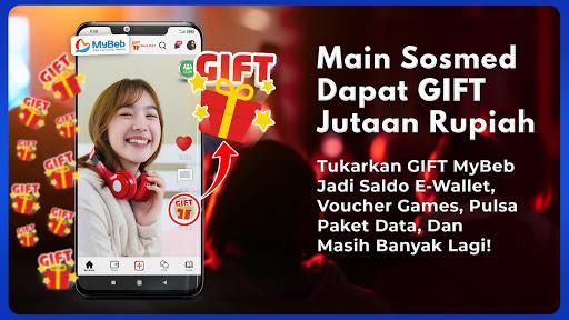 Sosial Media Terkini Gratis Jutaan Gift - MyBeb 4.0.37 screenshots 1