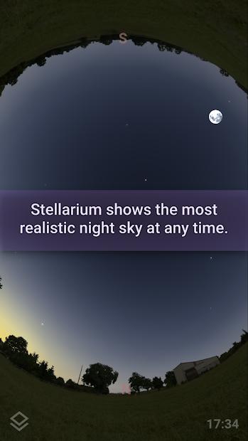 Stellarium Mobile Free - Star Map Android App Screenshot