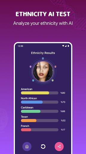 DNAlyzer - DNA Ancestry Gradient AI Test apktram screenshots 2
