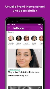 InTouch - Promi-News für Dich! Screenshot