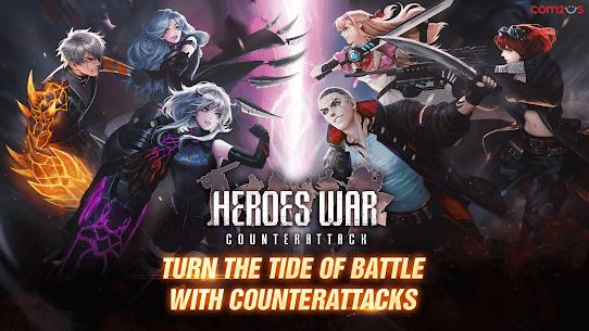 Heroes War: Counterattack APK MOD HACK (Gemas Ilimitadas) 1