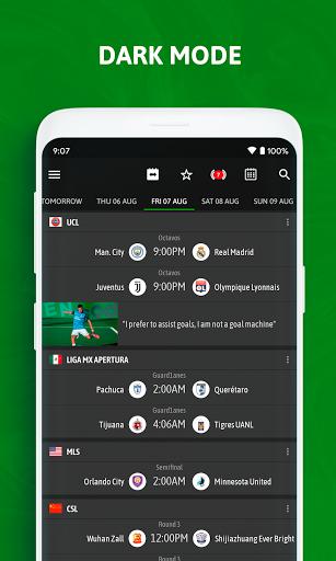 BeSoccer - Soccer Live Score 5.2.2.1 Screenshots 7