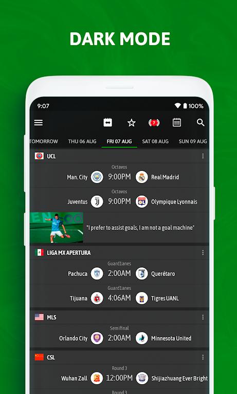 BeSoccer - Soccer Live Score  poster 6