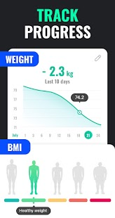 Lose Weight App for Men - Weight Loss in 30 Days Screenshot