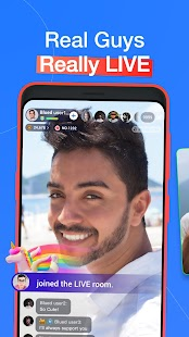 Blued: Live video chat, gay dating & social Screenshot