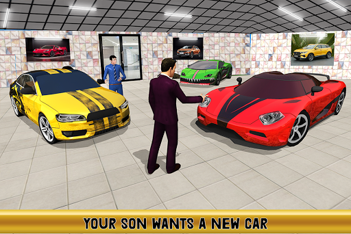 Virtual Billionaire Dad Simulator: Luxury Family android2mod screenshots 16
