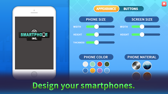 Smartphone Inc-Mobile Phone Designer Mod Apk (Unlimited Money/Diamonds) 7