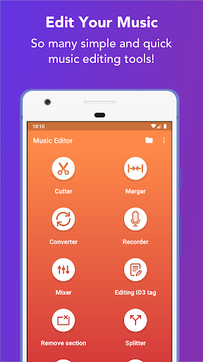 Music Editor - MP3 Cutter and Ringtone Maker 5.5.2 Screenshots 1