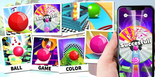 Color Stack Ball 3D: Ball Game run race 3D - Helix 8 screenshots 8