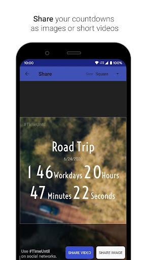 Time Until | Beautiful Countdown App + Widget 3.0.3 Screenshots 7