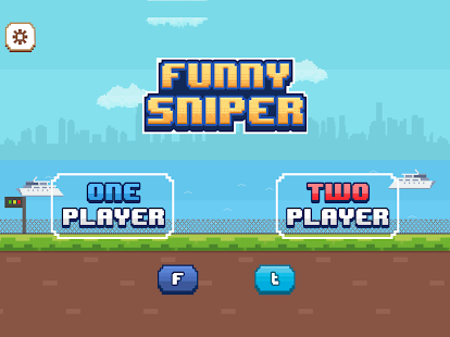 Funny Snipers - 2 Player Games Screenshot