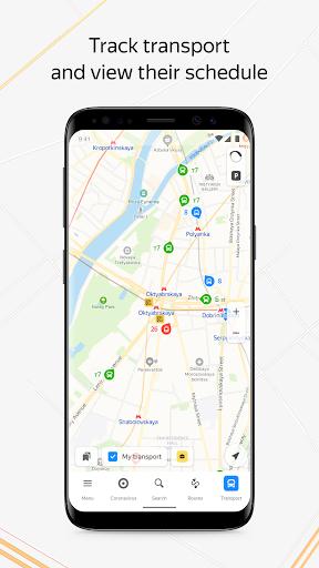 Yandex.Maps and Transport 9.7.2 screenshots 1