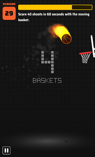 Dunkz ud83cudfc0ud83dudd25  - Shoot hoop & slam dunk screenshots apkspray 3