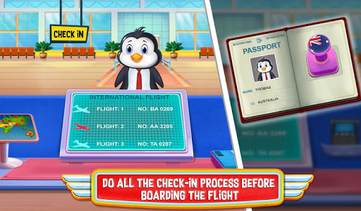 Airport Activities Adventures Airplane Travel Game apkdebit screenshots 2