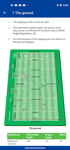 laws of rugby screenshot 1