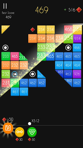 Balls Bricks Breaker 2 - Puzzle Challenge modavailable screenshots 19