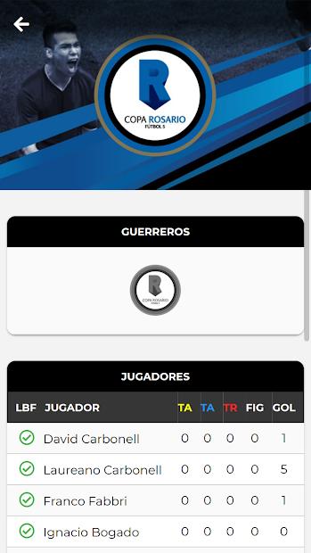 Copa Rosario screenshot 1