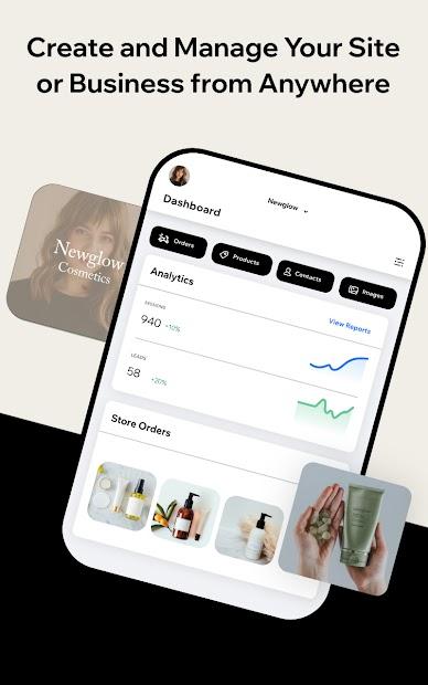 Captura 15 de Wix Owner: crea sitios, tiendas online o blogs para android