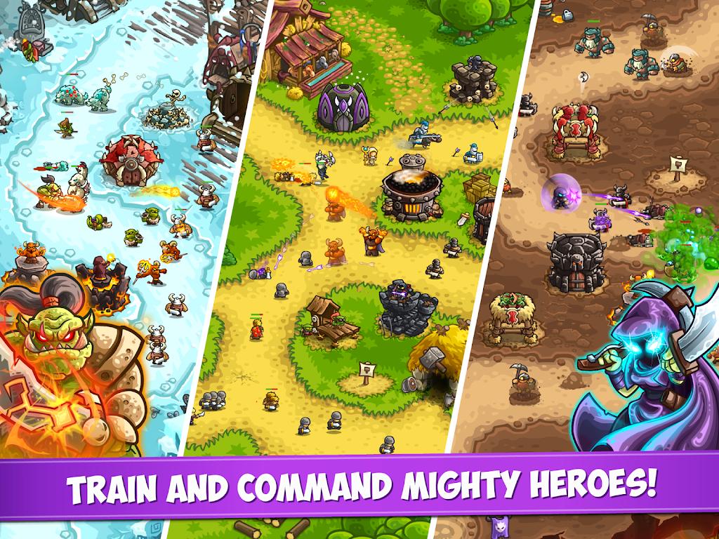 Kingdom Rush Vengeance - Tower Defense Game  poster 15