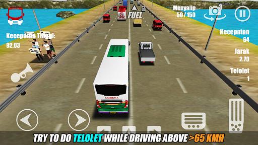 Telolet Bus Driving 3D  screenshots 3