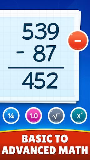 Math Games - Addition, Subtraction, Multiplication 1.0.5 screenshots 2