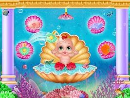 Little Mermaid Baby Care Ocean World