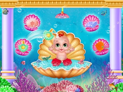 Little Mermaid Baby Care Ocean World 4