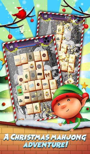 Xmas Mahjong: Christmas Holiday Magic apktram screenshots 8