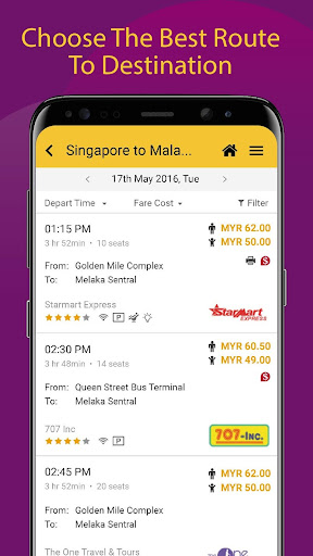 Easybook - Bus, Train, Ferry, Flight & Car Rental  screenshots 4