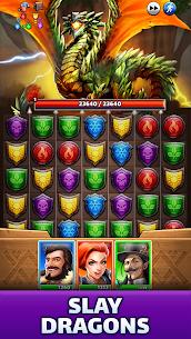 Empires & Puzzles: Epic Match 3 Mod APK 40.0.0 (High Damage+Unlimited Coins) 2
