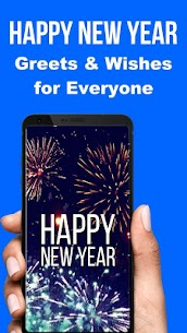 Happy New Year SMS Greeting Cards 2021 Apk Download 1