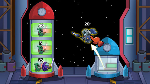 Save The Imposter: Galaxy Rescue apkslow screenshots 2