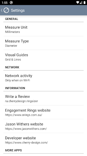 Ring Sizer by Jason Withers u00a9 modavailable screenshots 7