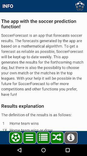 Soccer Forecast 1.3.8 screenshots 5