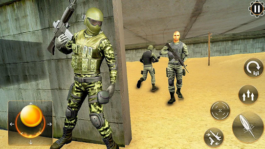 Real Commando Secret Mission: Army Shooting Mod Apk (God Mode) 5