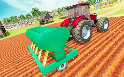 Modern Tractor Farming Simulator: Offline Games apktram screenshots 8