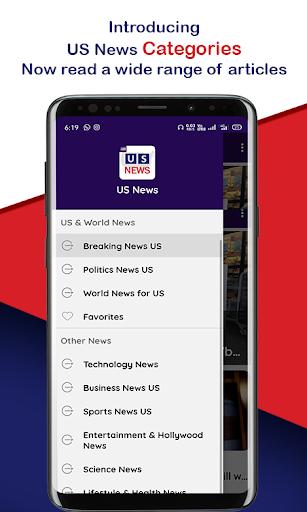 US News: World & America News, US Breaking News 1.10 screenshots 1