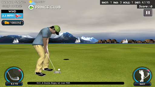 Real Star Golf Master 3D apkpoly screenshots 6