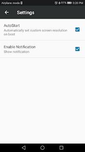 Screen Resolution Changer: Display Size & Density 2.0 Screenshots 6