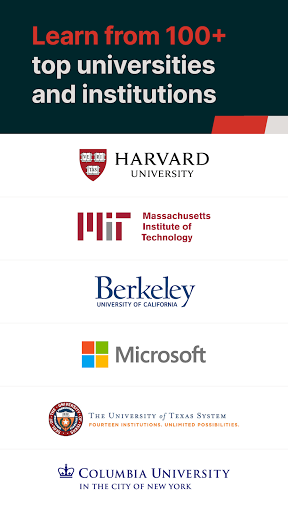 edX: Online Courses by Harvard, MIT, Berkeley, IBM 2.24.3 Screenshots 1