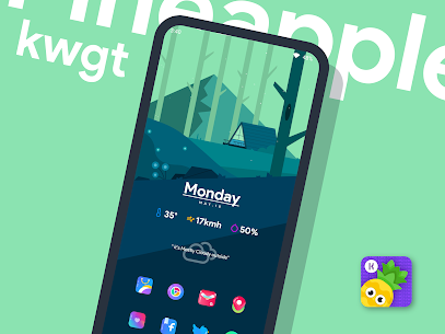 Pineapple KWGT 4.8 Apk 5