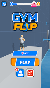 Gym Flip MOD (Unlimited Diamonds) 1